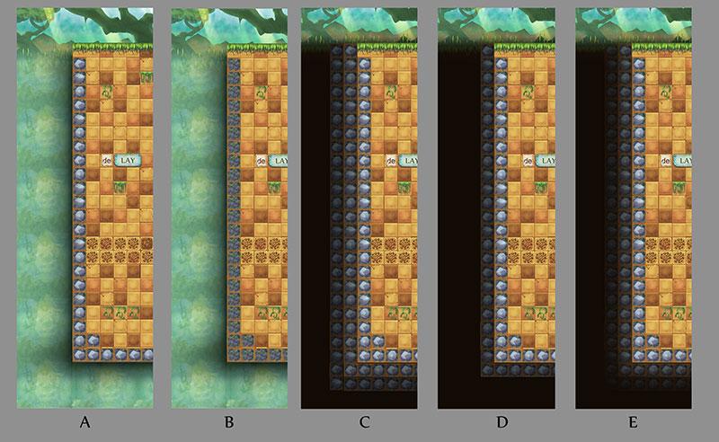 Level boundary variations