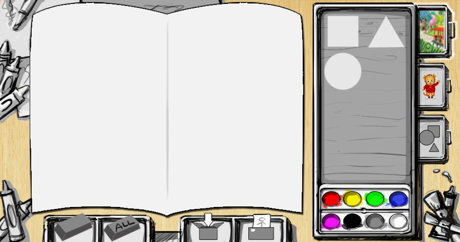 Card creator - rough sketch