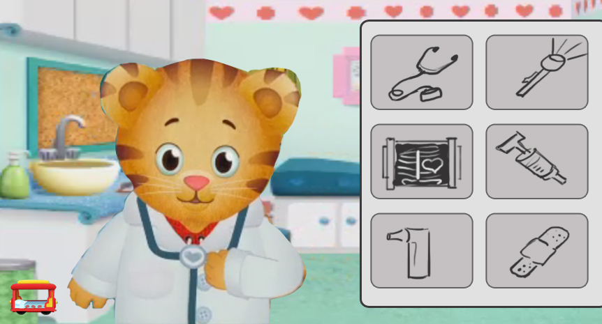 Doctor game mockup