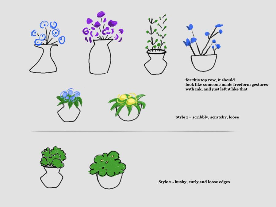 Environment - flower design