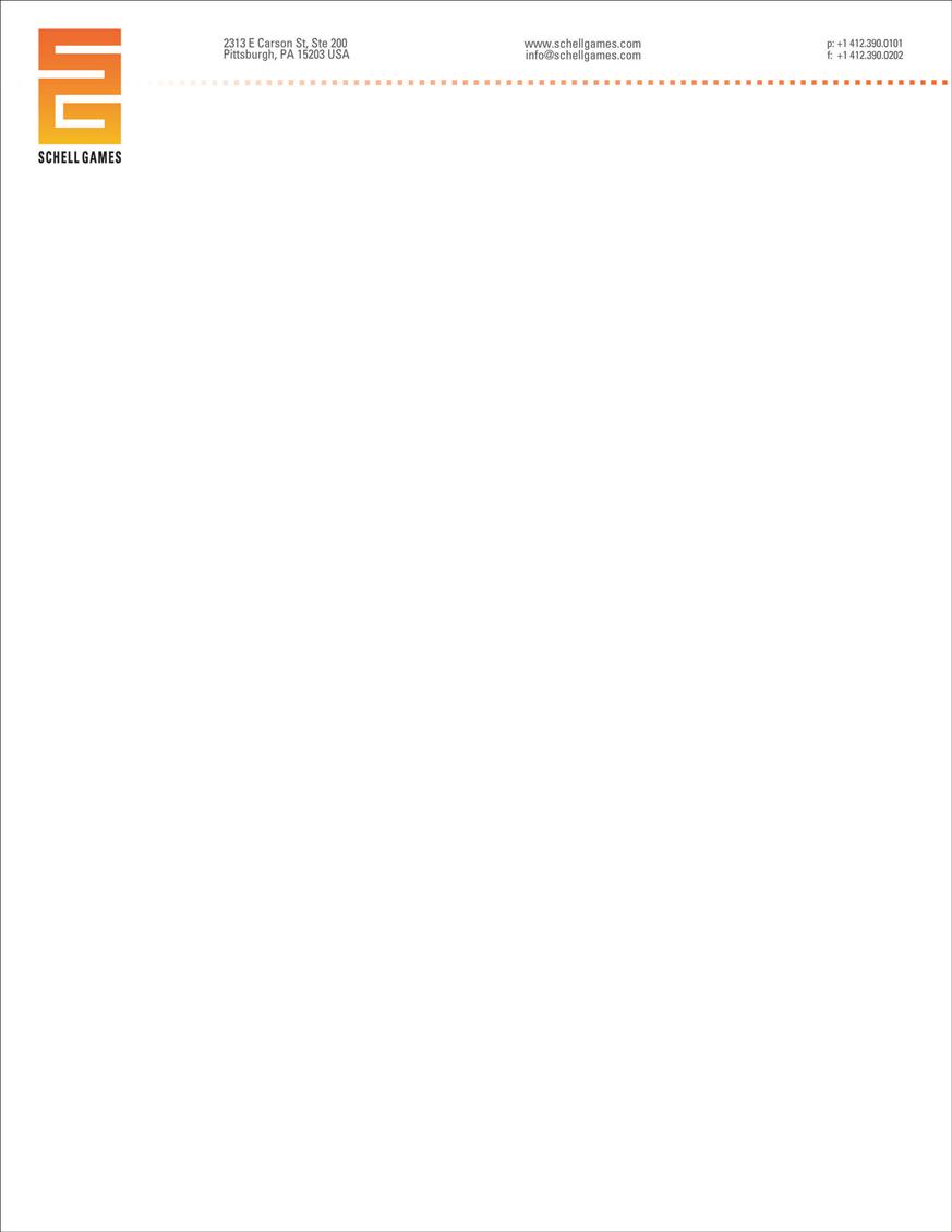 Letterhead - Horizontal version