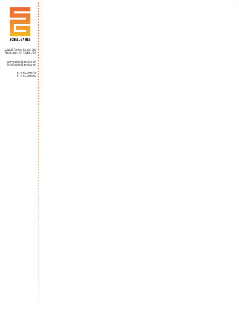 Letterhead - Vertical version