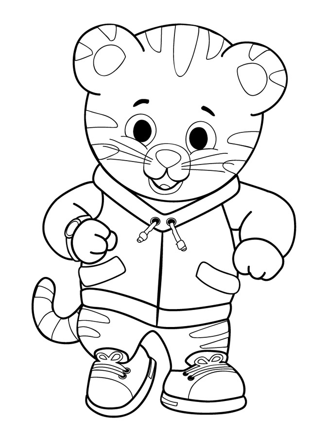 Printable Daniel Tiger Coloring Pages Online