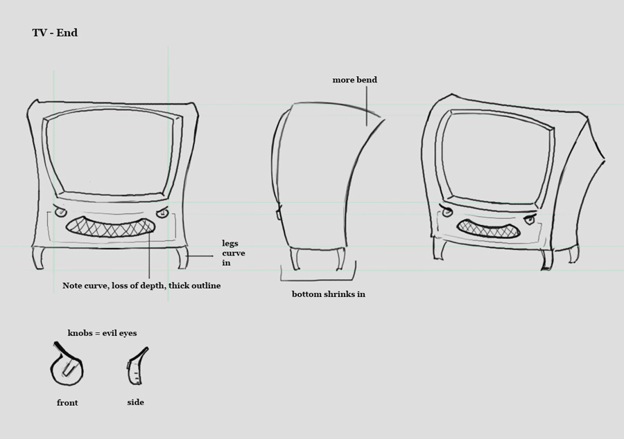 TV design - stage 3