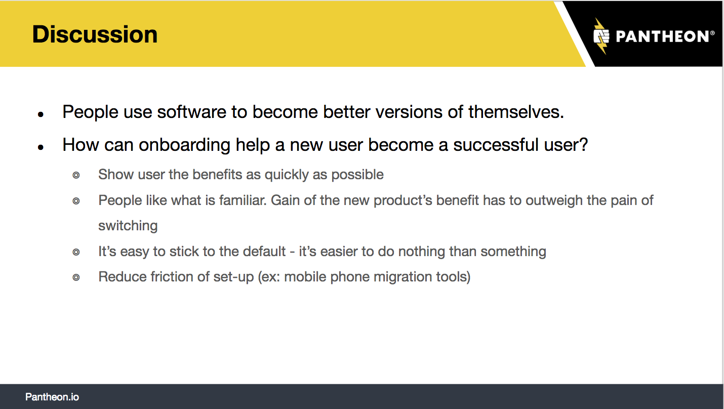 onboarding discussion excerpt